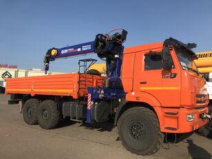 KAMAZ 43118 c тросовым КМУ DY (DongYang) SS1956 ACE camión caja abierta nuevo