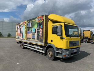 MAN TGM 15.240 , hydr čelo camión caja abierta