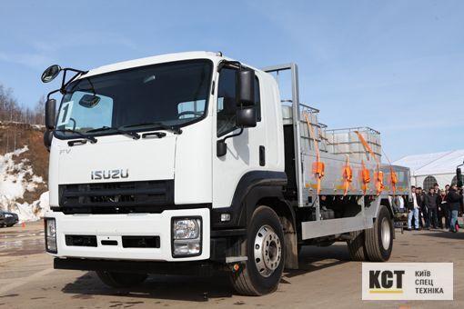 ISUZU FVR34M camión caja abierta