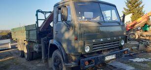 KAMAZ 5320+KRANAS camión caja abierta