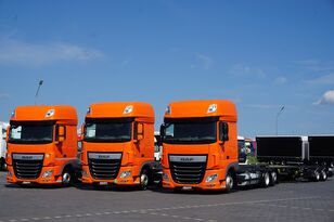 DAF 106 / 460 / SSC / ACC / EURO 6 / ZESTAW BDF / 2 X 7,8 M camión chasis + remolque chasis