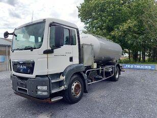 MAN TGS 18.360 - citerne en inox isotherme-2 compartiments camión cisterna
