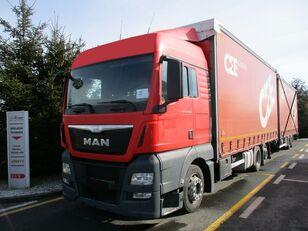 MAN TGX 26.400 6x2 E6 camión con lona corredera