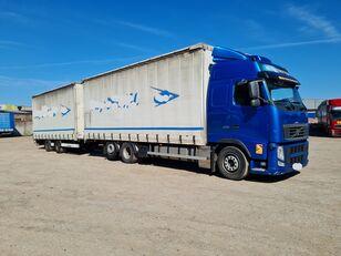 VOLVO FH 13 camión con lona corredera + remolque con lona corredera