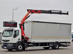 RENAULT LANDER 320 DXI  camión con lona corredera