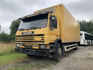SCANIA 93 camión furgón