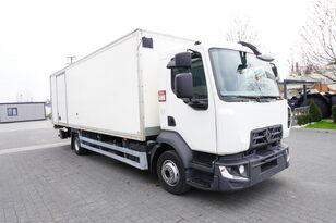 RENAULT D12 , E6 , 4x2 , Box 18 EPAL side door  , tail lift Dhollandia , camión isotérmico