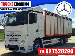 MERCEDES-BENZ ACTROS 25 45 camión para transporte de ganado