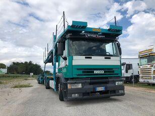 IVECO EUROTECH  bisarca veicoli + biga Rolfo camión portacoches