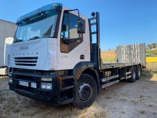 IVECO STRALIS AD260-6X2-PORTAMAQUINARIA camión portacoches