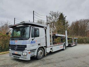 MERCEDES-BENZ Actros 1844 Austausch Motor ca 500000 camión portacoches + remolque portacoches