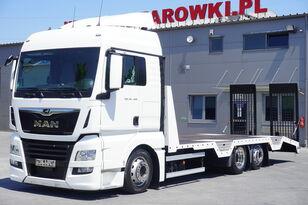 MAN TGX 26.460 XLX , E6 , 6X2 , NEW BODY 7,9m , ramps ,winch , remot camión portacoches