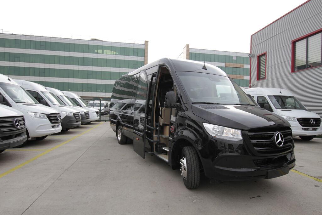 furgoneta de pasajeros MERCEDES-BENZ 519 19+1+1, vip *COC* nueva