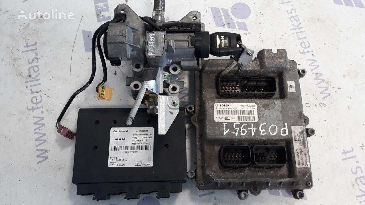 MAN D2676 EURO 5 ECU set unidad de control para MAN TGX tractora