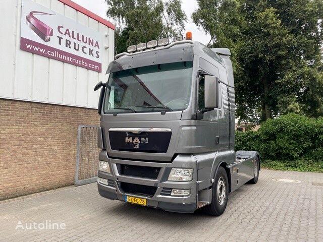 MAN TGX 18.540 XL kipper+cargo hydraulik Handschalter tractora