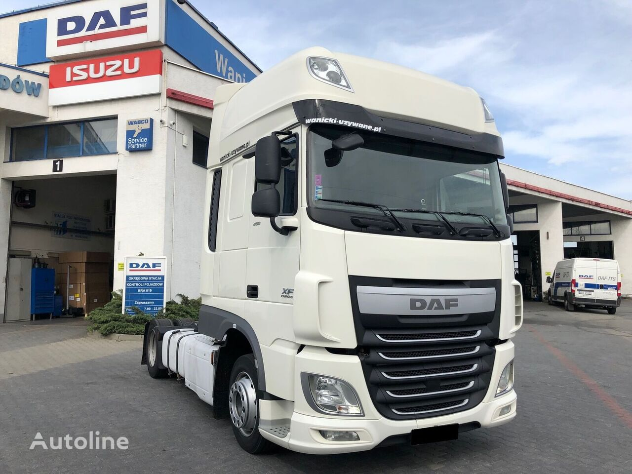 tractora DAF XF 460 FT Low Deck