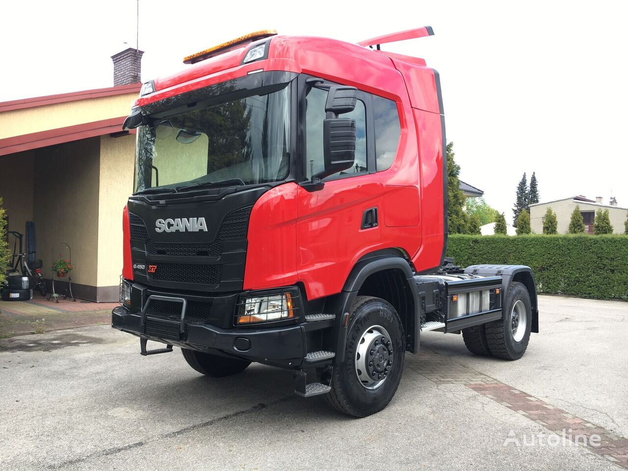 SCANIA G450 XT tractora